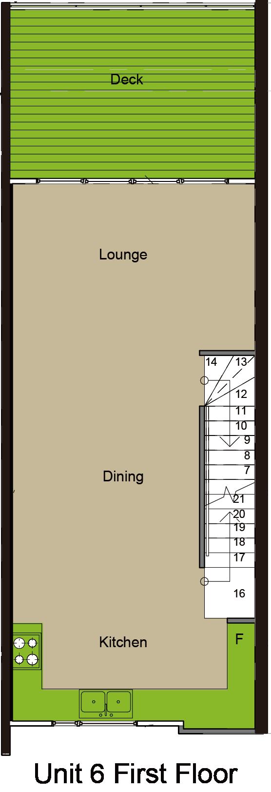 Norx, Albany, 5 Kerekia Unit 6, 02 First Floor
