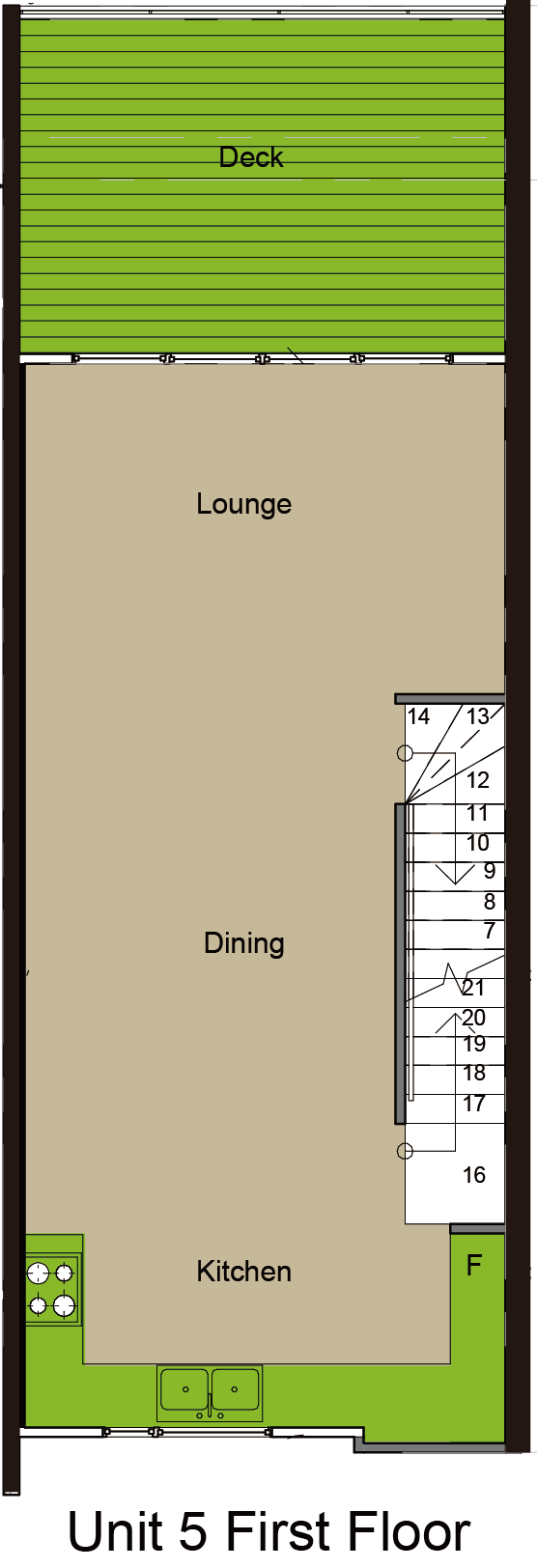 Norx, Albany, 5 Kerekia Unit 5, 02 First Floor