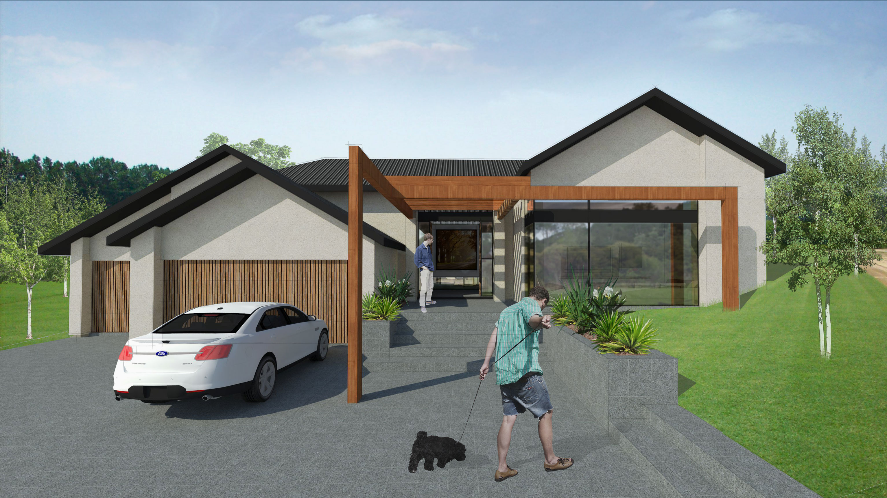 Norx, Lot 28, 17 Tau Rd, Flat Bush, 3D Render1